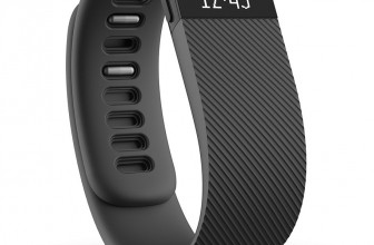 Fitbit Charge Wireless Activity Wristband, Black, Large Fitbit