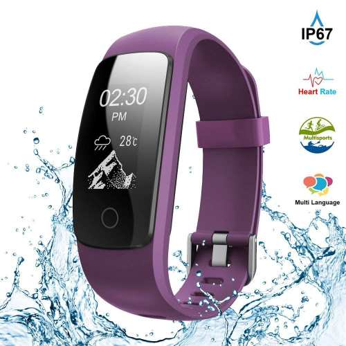 Kybeco Fitness Tracker,Touch Screen Waterproof Activity Tracker with Heart Rate Monitor Watch Bluetooth Smart Watch Sleep monitor Pedometer Wristband Calorie...