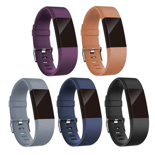 Leechee replacement bands for Fitbit charge 2, sports strap,Multiple colors availbale