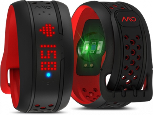 Mio FUSE Heart Rate Training + Activity Tracker.
