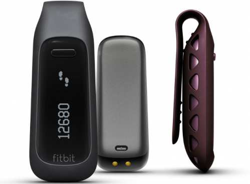 Fitbit One Wireless Activity Plus Sleep Tracker, Burgundy